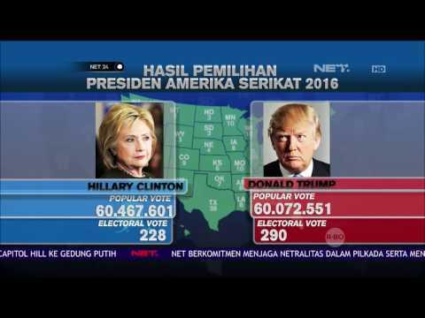 Ini Hasil Pemilihan Presiden Amerika Serikat 2016 - NET24