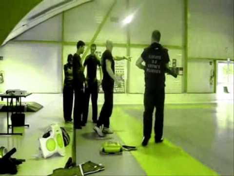 PASSAGE DE GRADE SAVATE BATON DEFENSE CD56 SBF