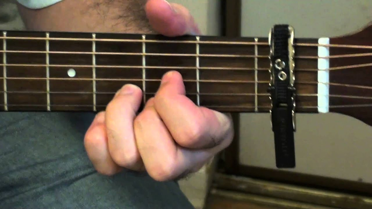 how to play wonderwall by oasis on acoustic guitar youtube