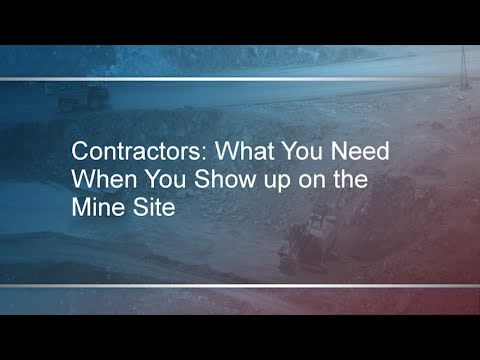 MSHA Compliance - Contractor Requirements