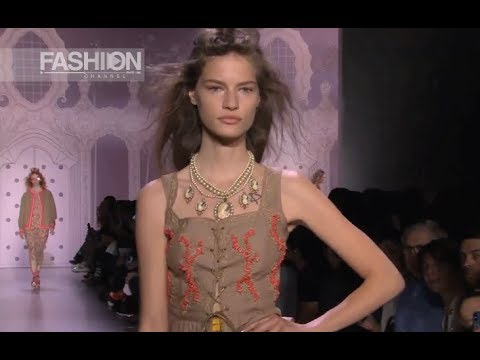 ANNA SUI Highlights Spring 2020 New York - Fashion Channel