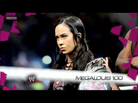 AJ Lee 4th WWE Theme Song  Lets Light It Up WWE Edit With Download Link