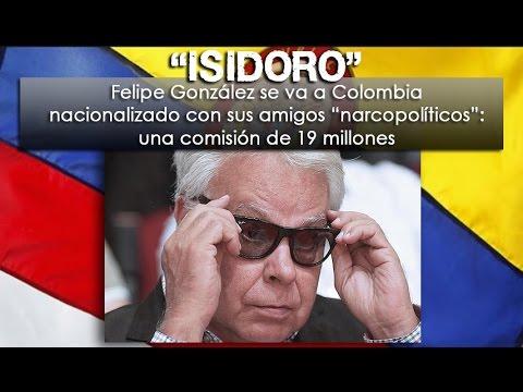 Las Ratas Primero; Isidoro Felipe Gonzalez marcha a Colombía de @EspiaCongreso