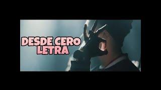 ECKO - DESDE CERO (LETRA)