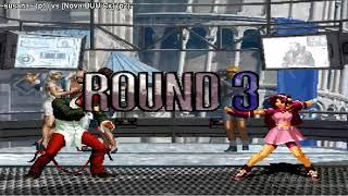 KOF 2002 FIGHTCADE [CSK]-susana- (MEX) vs (MEX) [Nova-BUUCx]