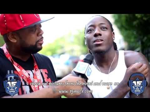 Ace Hood - Before the Rollie ft. Meek Mill (BTS Interview with 15 Minutes of Fame Radio)