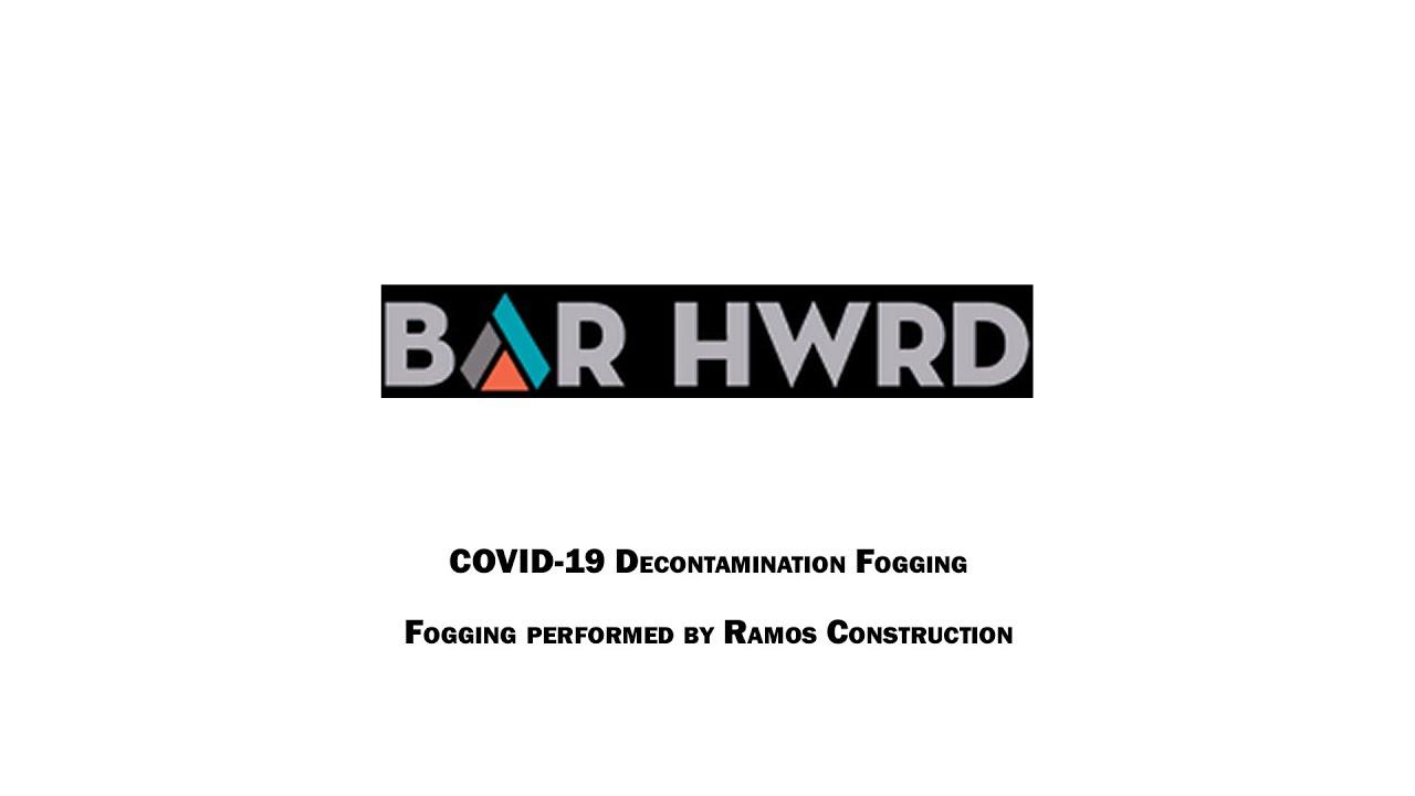 Disinfected: Bar HWRD