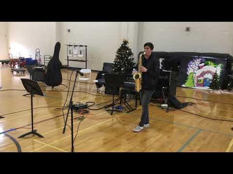 "Ann Sobrato High School - 2018_12_16, ""Play That Funky Music"" by Rob Parissi"