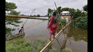 أخبار عالمية | العثور على 25 جثة بعد انحسار فيضانات #الهند