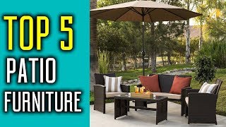 Best Patio Furniture 2018 - The Best Outdoor Furnitures Review & Buying Guide