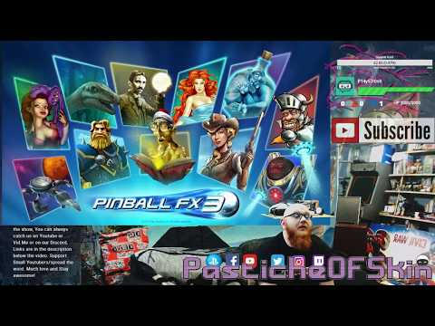 Cold Open - PINBALL FX3 - He sure plays a mean pinball!!