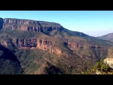 Blyde River Canyon and 3 rondawels on the panorama tour in Mpumalanga. South Africa