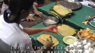 Empanada Cooking: Verzosa Vigan Vacation 2006 - part 1