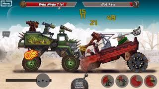 WarCars 2 - Car Fighting Game