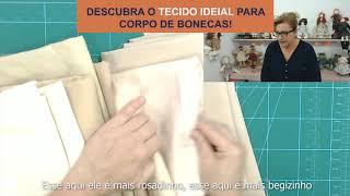 DESCUBRA O TECIDO IDEAL PARA CORPO DE BONECAS