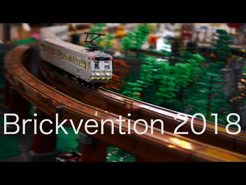 Brickvention train layout 2018