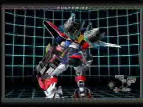 Custom Robo Secret Ray parts: Ray Warrior and Ray Legend