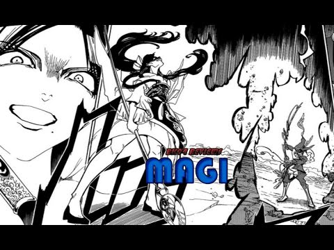 ARBA VS YUNAN!! Magi Chapter 308 Manga Review