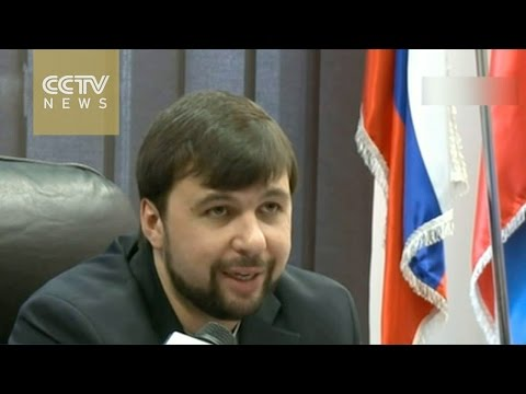 Exclusive interview with Ukrainian rebel leader Denis Pushilin