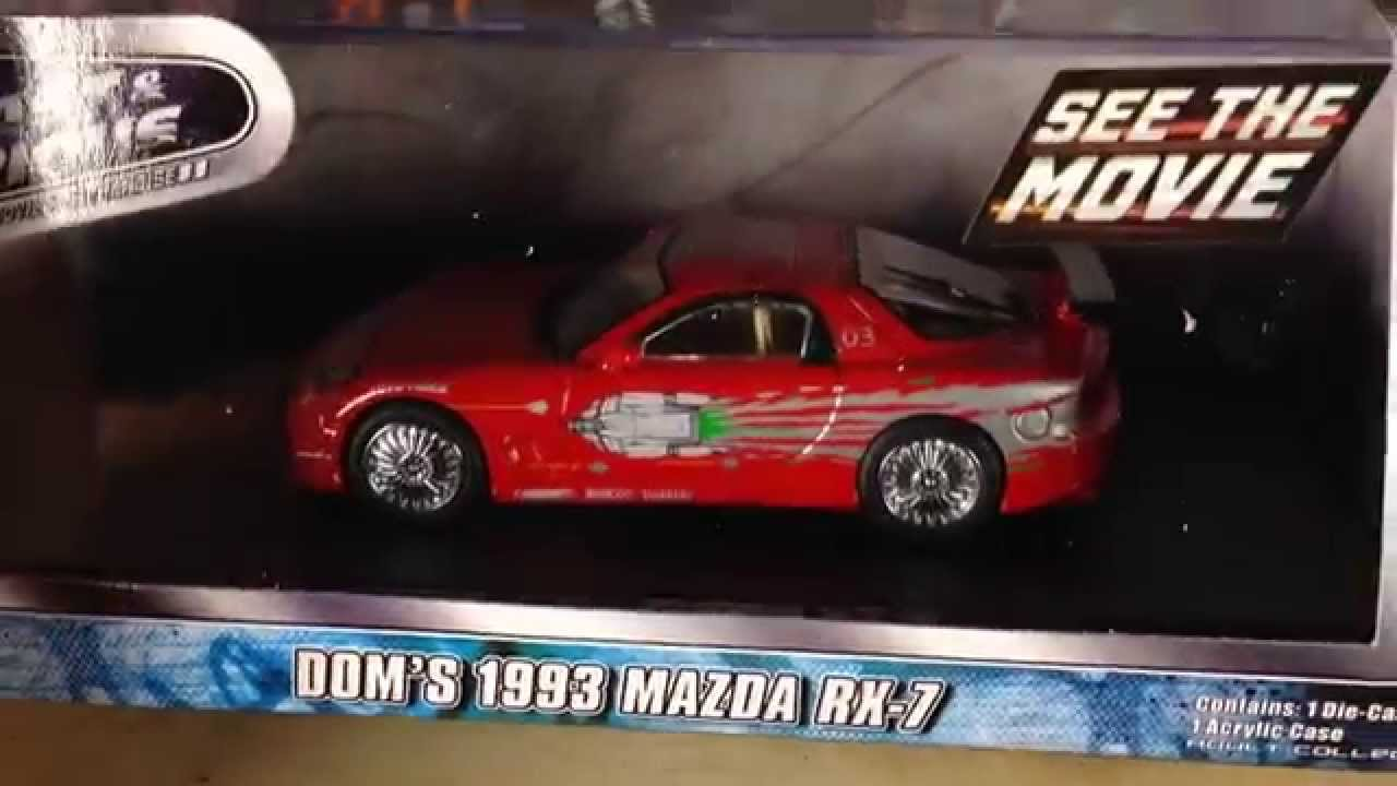 1993 mazda rx7 fast and furious. greenlight hollywood fast and furious domu0027s 1993 mazda rx 7 143 youtube rx7 a