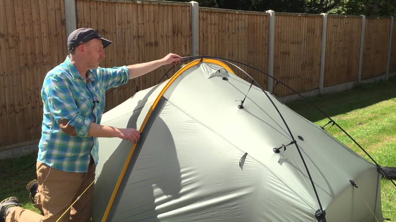 & A Years Review Of Scarp 1 Tent - YouTube