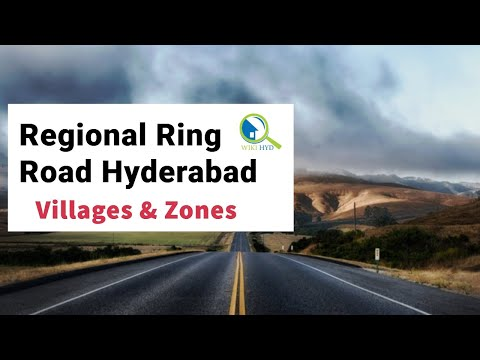 Regional Ring Road Hyderabad - Villages & Zones