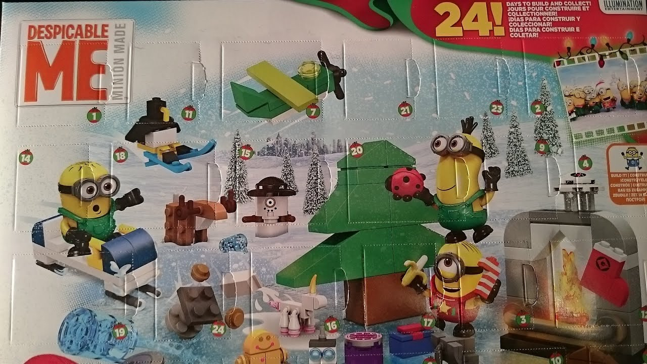 minions advent calender youtube. Black Bedroom Furniture Sets. Home Design Ideas