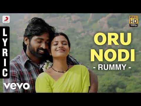 Oru Nodi Song Lyrics From Rummy