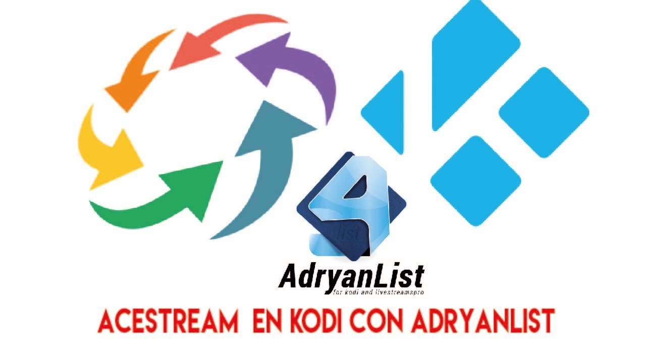 Tutorial como instalar acestream para ver canales arenavision en kodi y  adryanlist