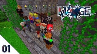 Neues PVP-Projekt | Minecraft MAGE ✨| #StadtBlau | #01
