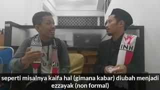 Wawancara ekslusif! belajar bhs arab bersama mujahid palestina muhammad husein algazi