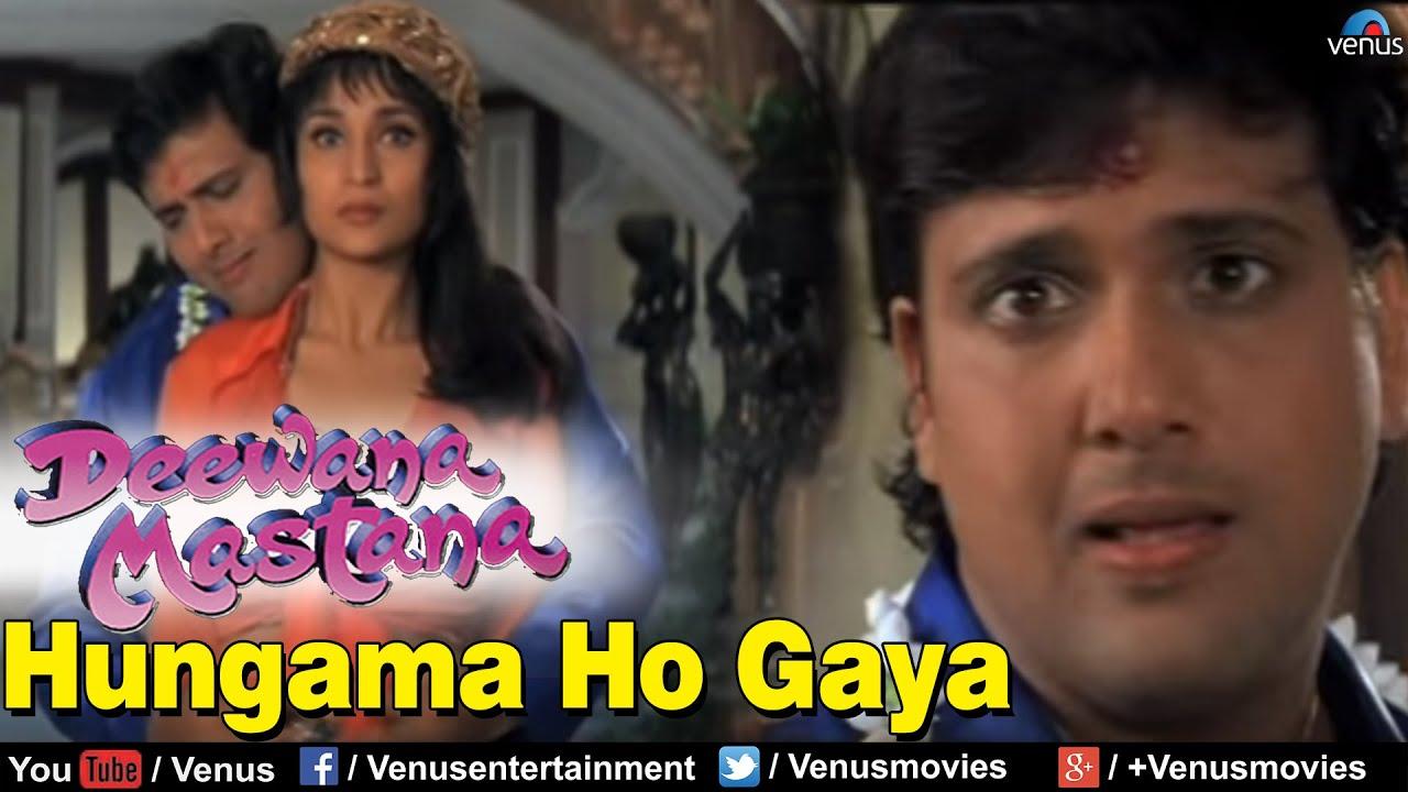 Download Hungama Ho Gaya Full Video Song : Deewana Mastana   Govinda, Anil Kapoor, Juhi Chawla  