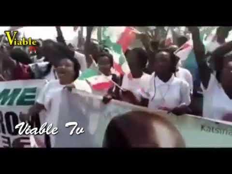 Just In : Massive Crowd Gathering to Welcom Atiku Abubakar In Abuja after His Successful trip In U.S