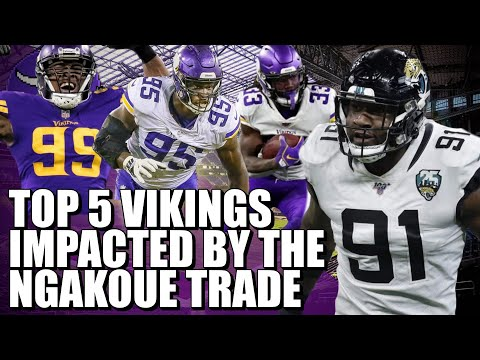 Top 5 Vikings Impacted by the Yannick Ngakoue Trade