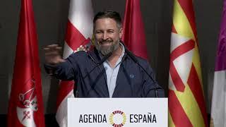 Discurso de Santiago Abascal en #VIVA21 ante 20.000 personas