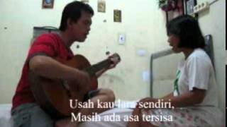 Usah Kau Lara Sendiri (Cover) Katon Bagaskara & Ruth Sahanaya