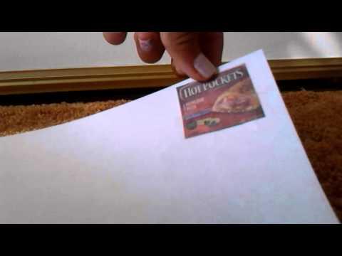 Lps: Paper food (DIY)