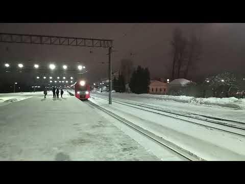 "ЭС2Г-014 ""Ласточка"" 803 Санкт-Петербург - Великий Новгород"