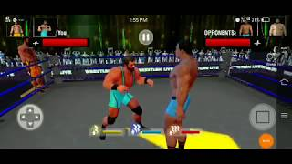 WWE REAL PLAYER GAME