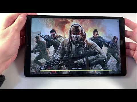 Игры Samsung Galaxy Tab A 10.1 T510N (GTA:SanAndreas, PUBG:Mobile, CallOfDuty)