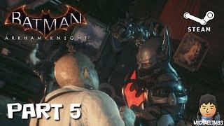 Batman Arkham Knight Hard NG+ #5 (PC 1080p 60fps Commentary)
