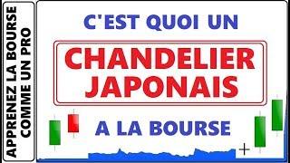 FORMATION GRATUITE : LES CHANDELIERS JAPONAIS A LA BOURSE C'EST QUOI ET COMMENT CA MARCHE