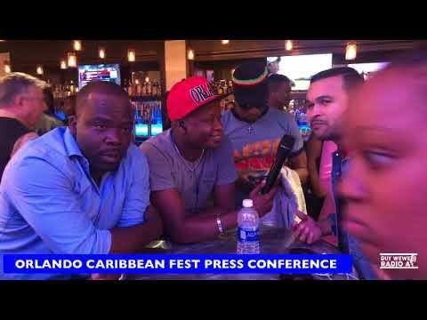 ORLANDO CARIBBEAN FEST PRESS CONFERENCE 16 MARS 2018