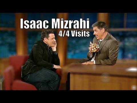 """Isaac Mizrahi - """"This Is The Gayest Show On TV """" - 4/4 Visits In Chronological Order"""