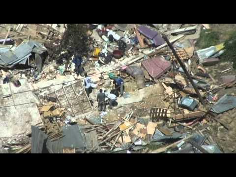 tragedia en La Paz, Bolivia - deslizamiento