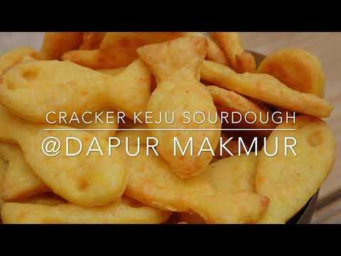 Resep Cracker Keju Sourdough