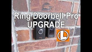 Ring Video Doorbell Pro Upgrade From The Original Ring Doorbell - Improved Motion Detection