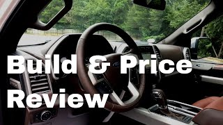 2018 Ford F-150 King Ranch SuperCrew - Build & Price Review - Features and Model Highlights