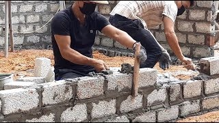 building Technology: Unique In How To Build Houses With Cement Bricks