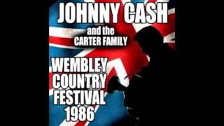 Johnny Cash - Wembley Arena, London England 1986 (Full Concert) [audio]